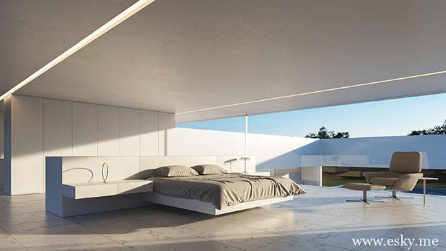 房顶方井式设计的房子-时光静好