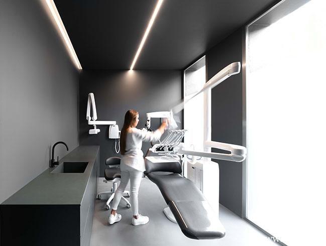极简风格的牙医诊所-时光静好