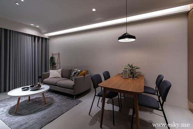 单身公寓这样设计,你会喜欢吗?-时光静好